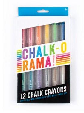 Ooly 124-003 Chalk-O-Rama Dustless Chalk Sticks set of 12