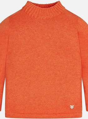 Mayoral 316 27 Mockneck Sweater Pumpkin