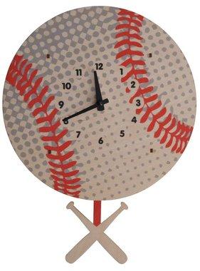 Modern Moose Baseball Pendulum Clock PCPEN047