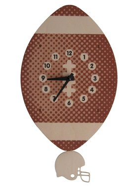 Modern Moose Football Pendulum Clock PCPEN046