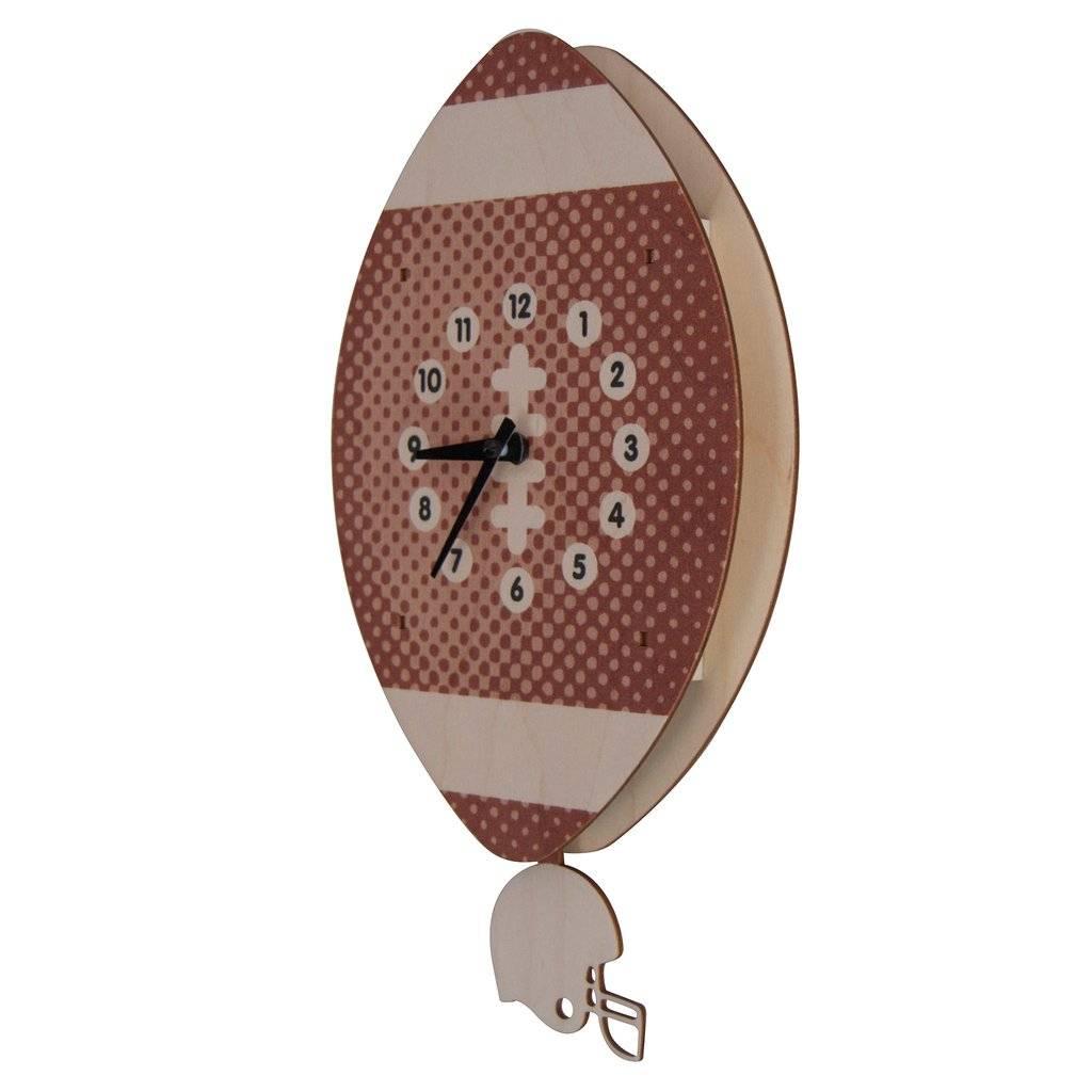 Modern Moose Football Pendulum Clock PCPEN046