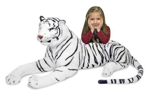 Melissa & Doug 3979 White Tiger - Plush
