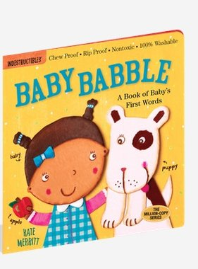 Workman Publishing Co Indestructible-Baby Babble