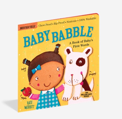 Workman Publishing Co Indestructible-Baby Babble