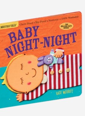 Workman Publishing Co INDESTRUCTIBLES: BABY NIGHT NIGHT