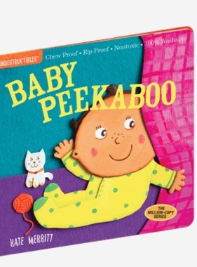 Workman Publishing Co INDESTRUCTIBLES: BABY PEEKABOO