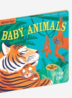Workman Publishing Co Indestructibles - Baby Animals