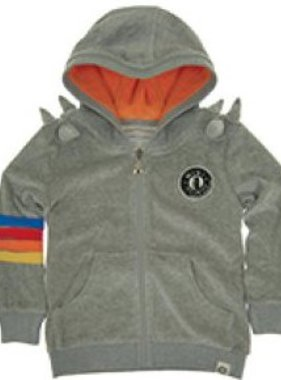 Mini Shatsu Gray Snake Spike Hoody