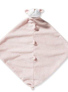 Angel Dear Pink Bulldog Blankie 1190