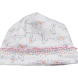 Kissy Kissy F17422-04PZ-N12 Darling Dachshunds Print Footie/Hat Set