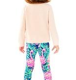Lilly Pulitzer Kids 26982-UL8 Maia Legging Flamingo Beach