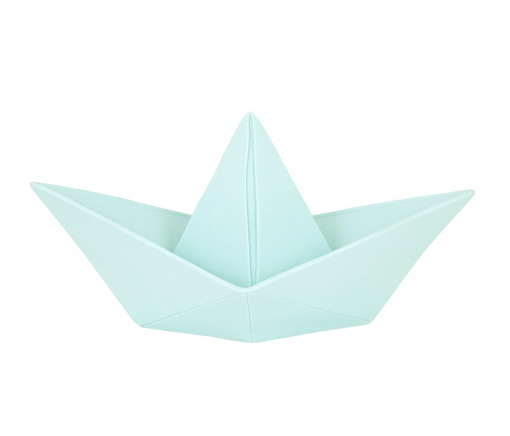 Goodnight Light Paper Boat Lamp Mint