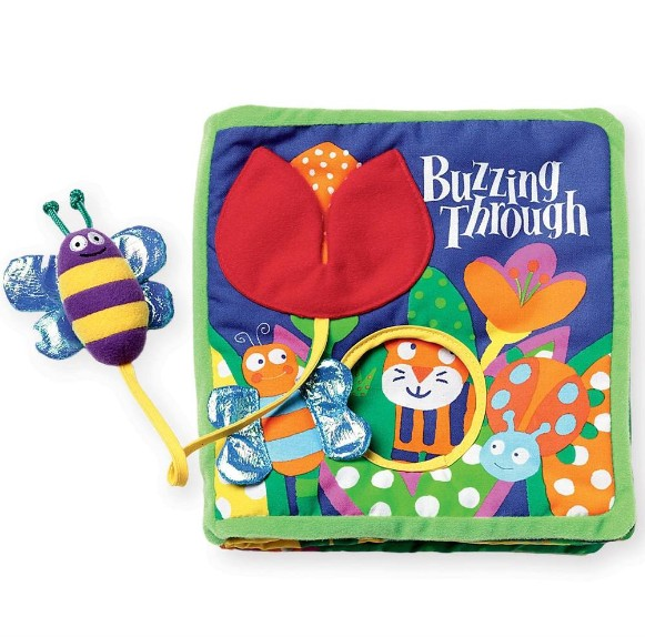 Manhattan Toy 202970 Buzzing Through Book
