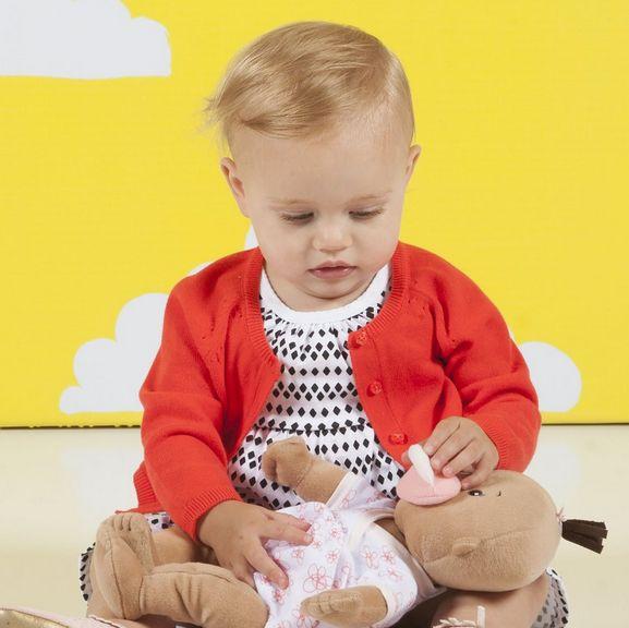 Manhattan Toy 152400 Baby Stella Beige Doll