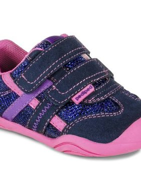 Pediped GG2362-NP Gehrig Navy/Rose