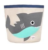 3 Sprouts UBNSHK Storage Bin Shark/Gray