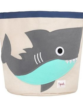 3 Sprouts UBNSHK Storage Bin Shark/Gray