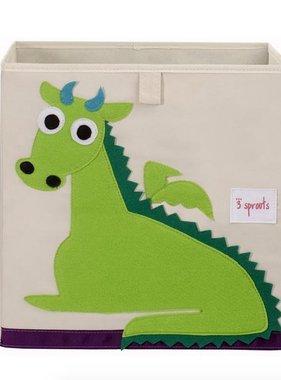 3 Sprouts UBXDRG Storage Box/Dragon Green
