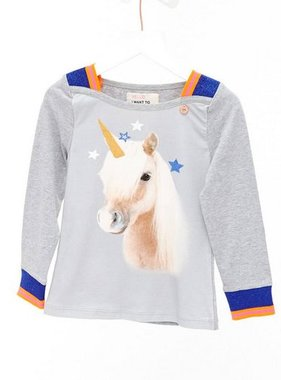 Mimpi Clothing 626-MIM Unicorn Sweater, Grey