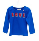 Mimpi Clothing 633-MIM Love Tee Shirt, Blue