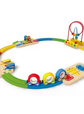Hape E8124 Musical Melody Railway Set
