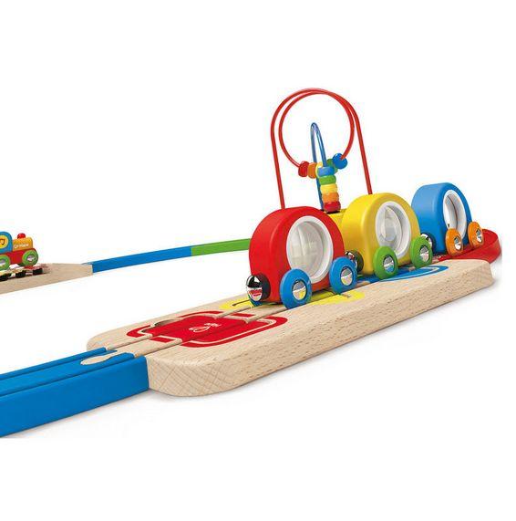 Hape E8124 Musical Melody Railway Set