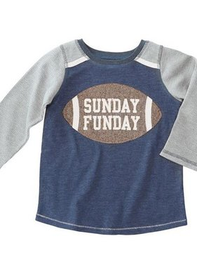 Mud Pie 1052200S Sunday Funday Tshirt