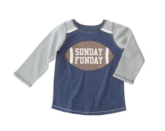 Mud Pie 1052200S Sunday Funday Tshirt