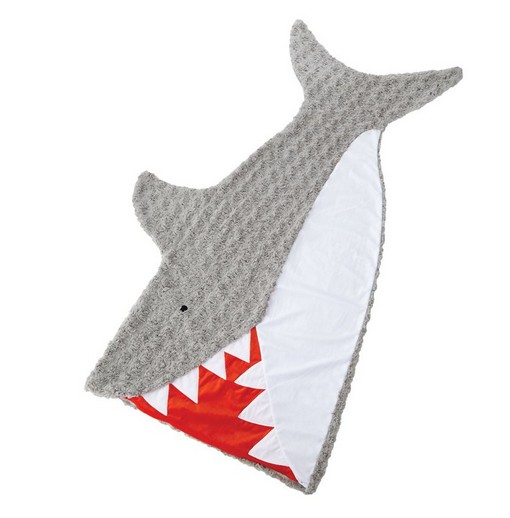 Mud Pie SHARK BLANKET
