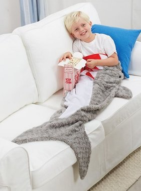 Mud Pie SHARK BLANKET 2102218