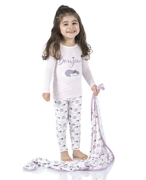 Kickee Pants Print Swaddling Blanket Nat Sweet Treats