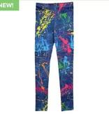 Iscream 820-1174L Paint Splatter Denim Leggings