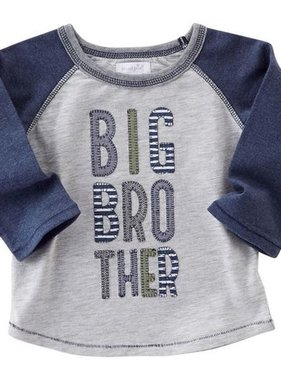 Mud Pie 1052216 Big Brother Raglan Tee