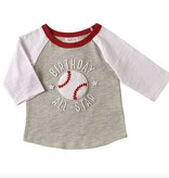 Mud Pie 1 BIRTHDAY ALL STAR TSHIRT 1052174