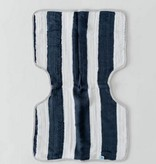 Little Unicorn UF0405 Muslin Burp Cloth Navy Stripe