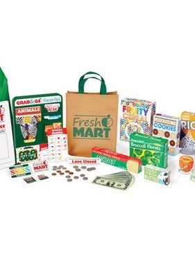 Melissa & Doug Fresh Mart Grocery Store Companion Set 5183 NO