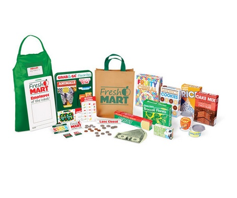 Melissa & Doug Fresh Mart Grocery Store Companion Set 5183