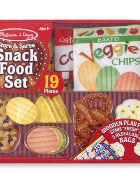 Melissa & Doug 4337 Store & Serve Snack Food Set NO