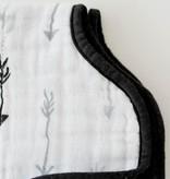 Little Unicorn UF0410 Cotton Muslin Burp Cloth - Arrow