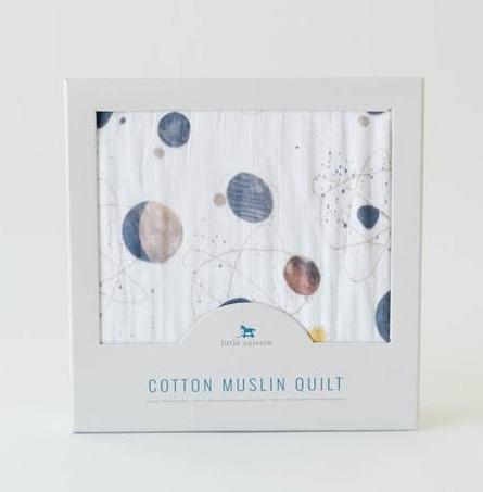 Little Unicorn UB0216 Cotton Muslin Quilt Planetary