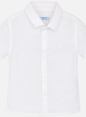 Mayoral 120 19 S/S Basic Linen Shirt White