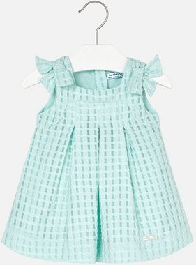 Mayoral 1910 64 Fitted Dress Aqua