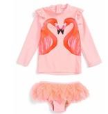 Shade Critters SG012M Flamingo A Go Rashguard Set