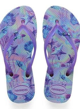 Havaianas Kids Kids Slim Summer Sandal, Lavender