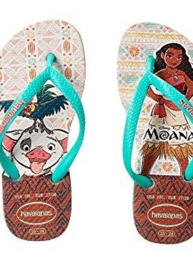 Havaianas Kids Moana Sandal Sand Grey