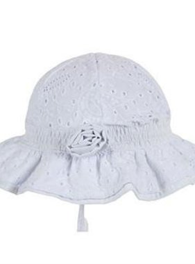 Tank Stream Design Kids HB35A Baby Girls Agapantha Bell Hat White