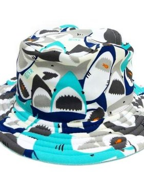 Tank Stream Design Kids DB71A Boy Bucket Hat Chomp Multi