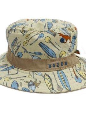 Tank Stream Design Kids DB73A Boys Bucket Hat Koa Stone