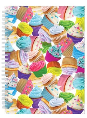 Iscream 724-799 Cupcakes 3D Small Journal