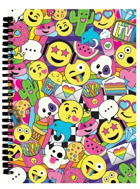 Iscream 724-826 Emoji Party 3D Small Journal